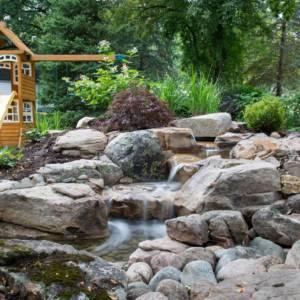 Jericho Pond Waterfall