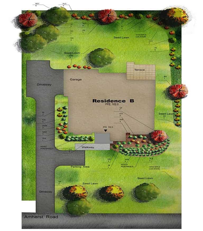 landscape design render